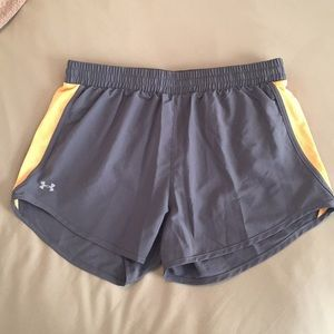 NWOT Under Armour Heat Gear Shorts Grey, Size S
